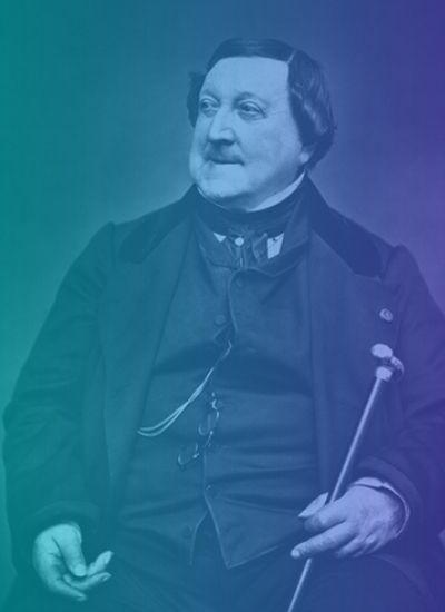 Gioachino Rossini Compositor Período romántico